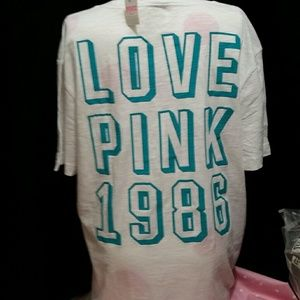 💙vs Pink T-shirt, L